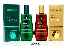 200ml BERGAMOT HAIR TONIC AND EXTRA TONIC THE ORIGINAL HAIR FALL SOLUTION