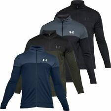 Under Armour 2019 Mens UA Sportstyle Full Zip Pique Sports Training Jacket