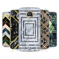 HEAD CASE DESIGNS GEOMETRIC MARBLE SOFT GEL CASE FOR MOTOROLA PHONES