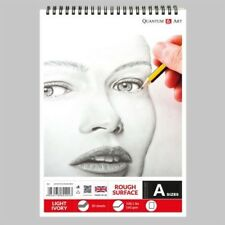 160gsm Sketch Pad Rough Ivory Light Drawing Artist Paper on SPIRAL Book