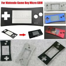 1* Front Faceplate Housing Shell Case for Nintendo Game Boy Micro GBM Replace