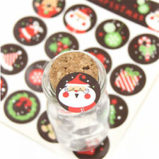 160pcs DIY Christmas Envelope Seal Sticker Gift Label Stickers Decor Xmas Gift