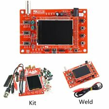 "DSO138 2.4"" TFT Digital Oscilloscope Kit DIY Parts + Acrylic DIY Case CoverAS"