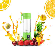 Multipurpose Charging Juicer 380ml USB Rechargeable Blender Mixer Portable Mini