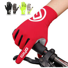 Touch Screen Full Finger Cycling Gloves MTB Road Bike Bicycle Sport Glove Racing