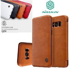 Nillkin Qin Series Card Slot Flip Leather Case For Samsung Galaxy Note 8 S8/PlGP