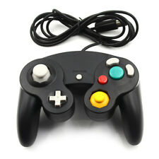 1x Black wired controller for nintendo game cube gc&Wii console classic joypadLH