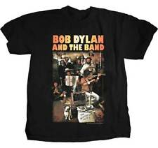 Bob Dylan and The Band The Basement Tapes Americana Rock Tee Shirt PSP-BND-1001