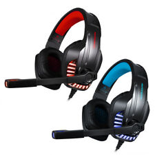 3.5mm LED Gaming Headset Mic Headphones Stereo Surround for PS4 Xbox ONE PC G3O0