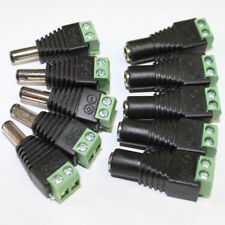 5x Power Supply Plug Adapter Connector DC 12V for 5050 3528 LED Strip Light