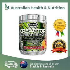 MUSCLETECH CREACTOR FRUIT PUNCH EXTREME - CLINICALLY PROVEN + FREE SAMPLE
