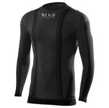 SixS TS2W Warm Mens Long Sleeve Under Shirt Black Carbon
