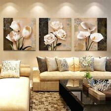 COLLAGE OF FLOWERS Canvas Art Print for Wall Decor and Painting. Flower Canvas A