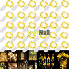 30PCS 20 Micro Starry LED Copper Wire String Lights Battery Operated Warm White