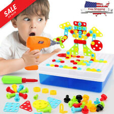 NEW TOOODY DRILL & Play Creative Educational Drilling Kids Toy Set Gift Kid Toys