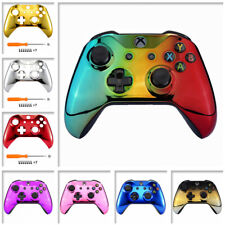 Chrome Upper Shell Faceplate Cover for Xbox One X One S Controller (Model 1708)