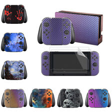 Customized Full Set Skin Decal Stickers for Nintendo Switch Console Joy-Con Dock