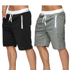 Mens Shorts Gym Training Workout Sports Casual Clothing For Running Knee Length