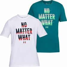 Under Armour Mens UA No Matter What Charged Cotton T-Shirt