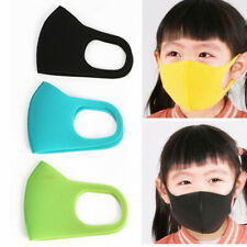3pcs Unisex Kids Child Anti Dust Pollution Smog Face Mouth Mask Respirator