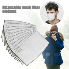 2020 5 Layers PM2.5 Filter Paper Haze Mouth Anti Fog Dust RespiratorFilter Pad