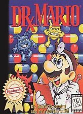 DR MARIO DOCTOR ORIGINAL NINTENDO RARE AUTHENTIC GAME NES