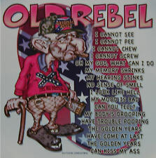 DIXIE OLD REBEL GUY I CANNOT SEE,PEE,CHEW,SCREW SHIRT #787