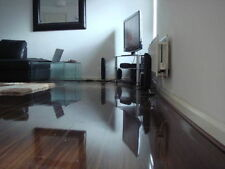 Super High Gloss Wood Laminate Flooring As Seen on TV