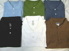 POLO SHIRT MENS 100% COTTON~SHORT SLEEVE  NEW~ FREE SHIPPING ~  FREE SHIPPING