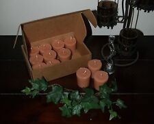 """Soy Votive Candles 12 Pk Box Kitchen Food Scents """"A-B"""" Seasons of the Earth"""