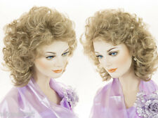 19 in Long Classic Medium Length Blonde Brunette Red Wavy Curly Wigs