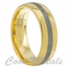 8MM TUNGSTEN CARBIDE WEDDING MEN BAND RING SIZE 9-15