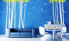 Wall Decor Decal Sticker vinyl large tree trunk wide forest DC313