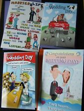 FUNNY HUMOUROUS ~ WEDDING DAY Cards Choice of designs