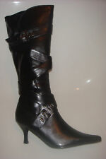 New black knee high boots by Chix in sizes 3-8