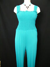ALL IN ONE TURQU JUMP SUIT SIZE 14 16 18 20 22 24 26 28