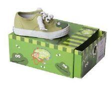 Leap Frog TENNIS SHOE Green Monkey-Toes Canvas Shoes Infant/Toddler