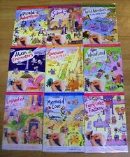 Rub on Transfers. Childrens Craft. Picture scene. Boys and Girls sets