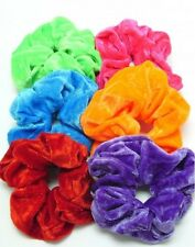 Big & soft  velvet hair scrunchie, choose from 30 Fab colour options,