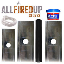 "Register/closure plate kit For Wood Burning Stoves 5""125mm and 6""150mm flue pipe"