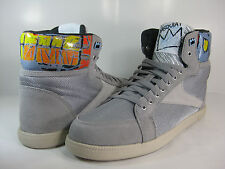 REEBOK MENS BERLIN BASQUIAT Grey/Gravel-Paper White -J87147- ATHLETIC