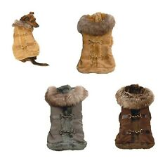 5294 New York Dog Aspen Suede Coat
