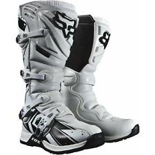 NEW 2014 Fox Racing WHITE Comp 5 Undertow Adult Mens MX Boots All Sizes 05051