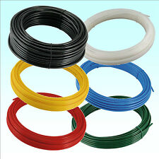 METRIC Flexible Nylon Pneumatic Air Line Tubing Compressed Airline Pipe Tube UK