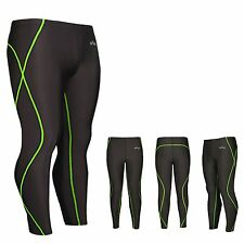 Mens Womens  skin tights compression spandex pants S~XXL under base layer gear