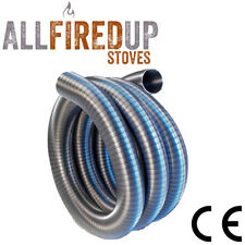 Multi Fuel Flexible Flue Chimney Liner 4 wood burning stoves 316 stainless steel