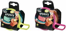 TOMMEE TIPPEE NEW EXPLORA SNACK AND GO FEEDING BOWLS   12M+  BPA FREE