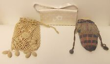 3 STYLES OF VINTAGE PURSES FOR SALE PRICE IS FOR ONE ASSORTED STYLES  USED