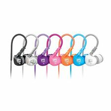 MEE audio M6 Memory Wire Over-the-Ear Sound-Isolating Sports In-Ear Headphones