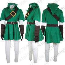 The Legend of Zelda link anime Cosplay costume unisex cheap outfit